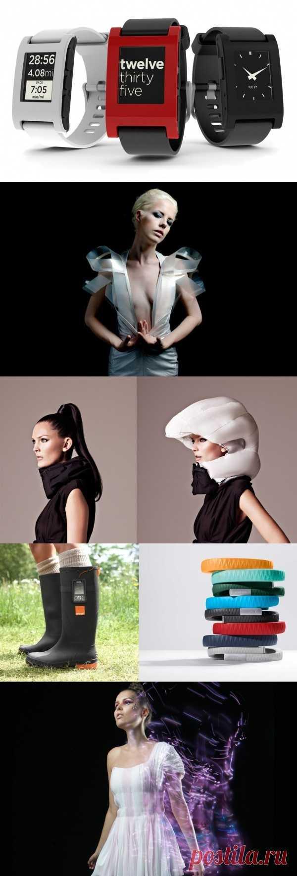 Хай-тек технологии для стильных вещей