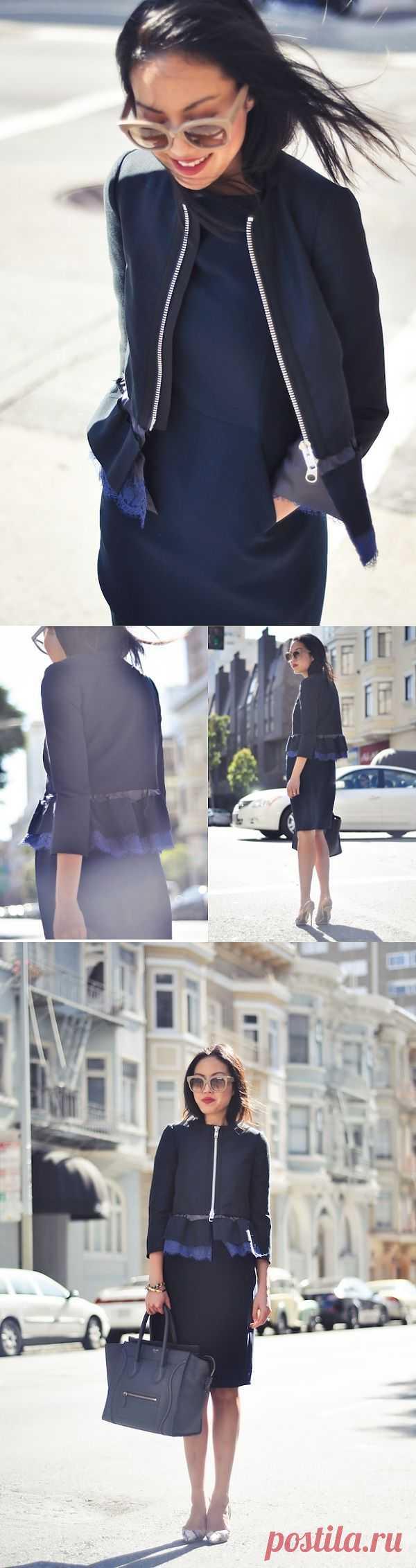 Необычная баска / Жакеты / Модный сайт о стильной переделке одежды и интерьера