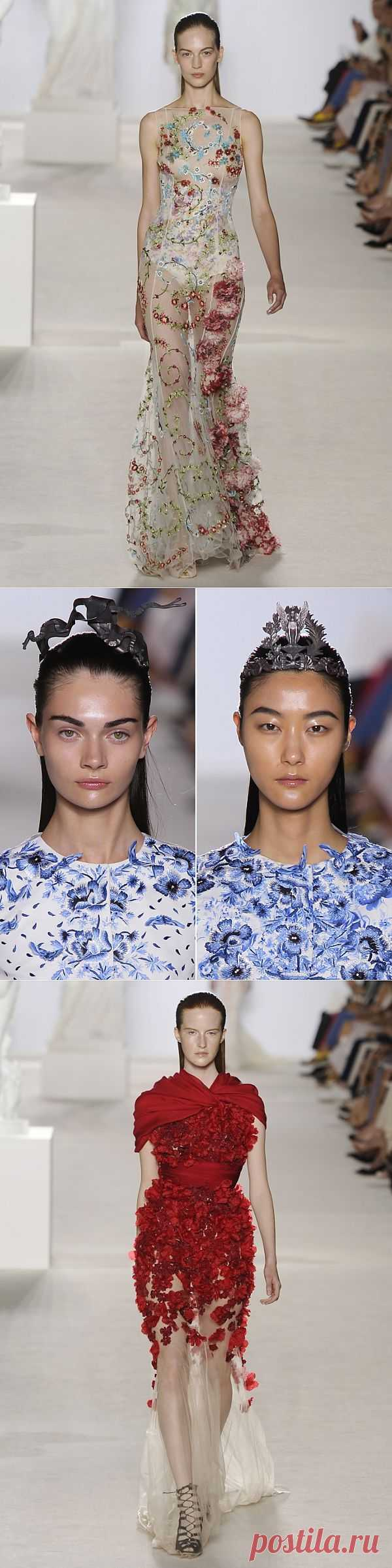 Показ Giambattista Valli, Fall 2013 - Парижская неделя моды (Трафик) / Дизайнеры / Модный сайт о стильной переделке одежды и интерьера