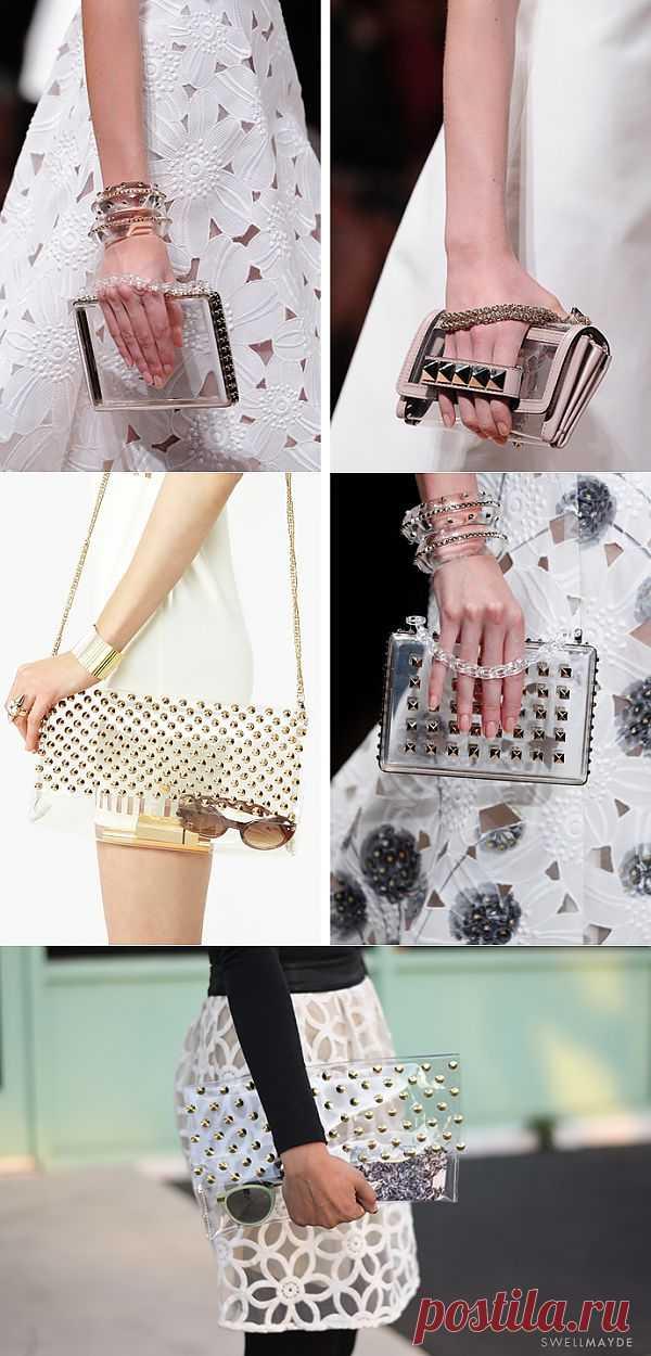 Прозрачный клатч / Сумки, клатчи, чемоданы / Модный сайт о стильной переделке одежды и интерьера