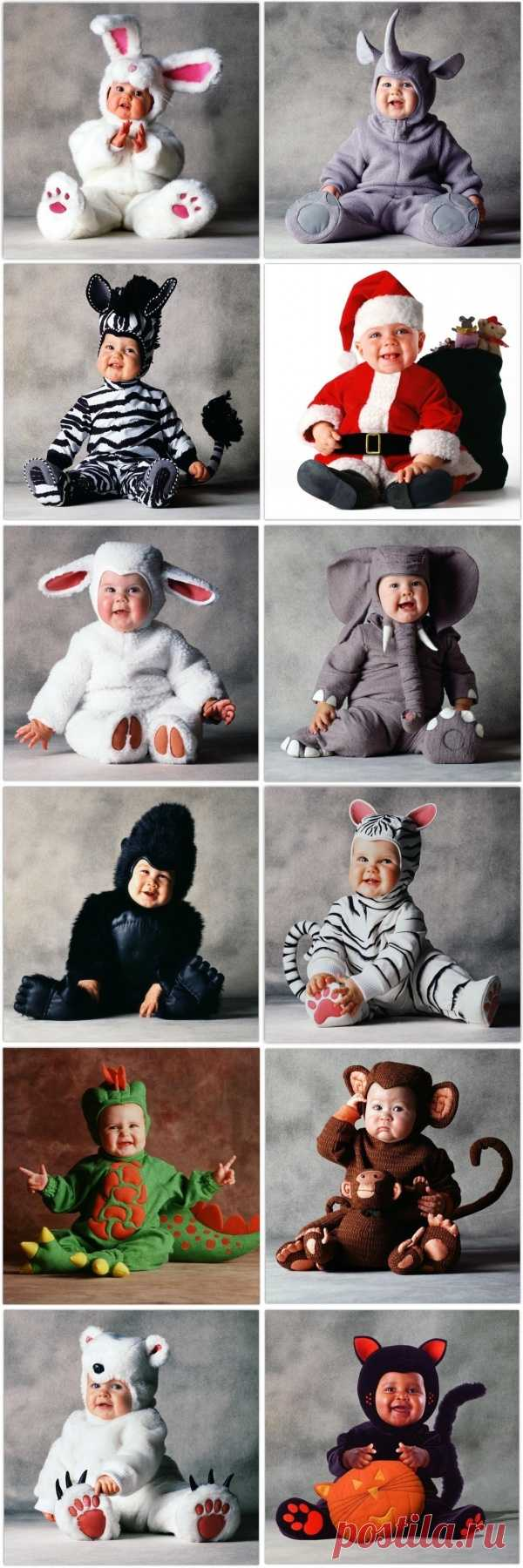 Ideas of carnival costumes for babies