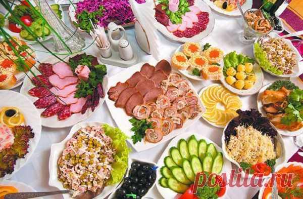 Быстрые и легкие закуски на праздничный стол — ХОЗЯЮШКА