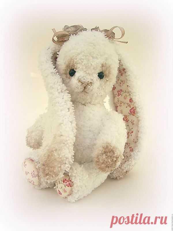 Вяжем белую зайку (схема) - Ярмарка Мастеров - ручная работа, handmade