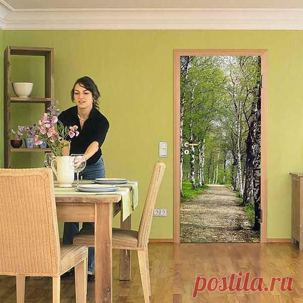 Декор двери / Арт-объекты / Модный сайт о стильной переделке одежды и интерьера