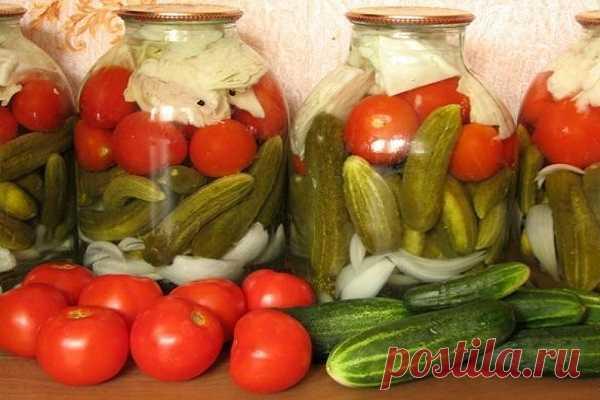«Огород в банке» на зиму: рецепты консервации в домашних условиях с фото и видео