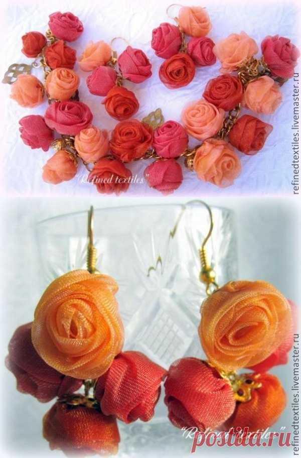 Создаем романтичные украшения