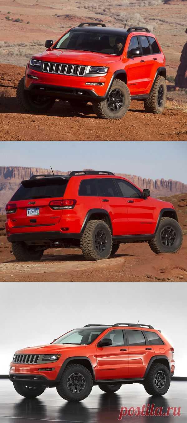 Jeep Grand Cherokee Trailhawk II Concept (2013)