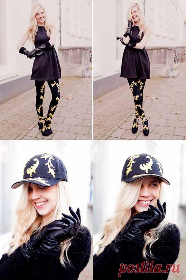 Барокко идёт! (DIY * 2) / Носки, колготки, леггинсы / Модный сайт о стильной переделке одежды и интерьера