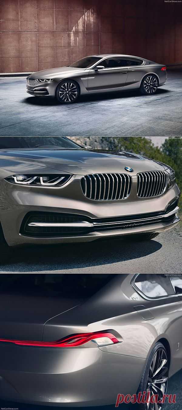 BMW Gran Lusso Coupe Concept (Pininfarina) (2013)