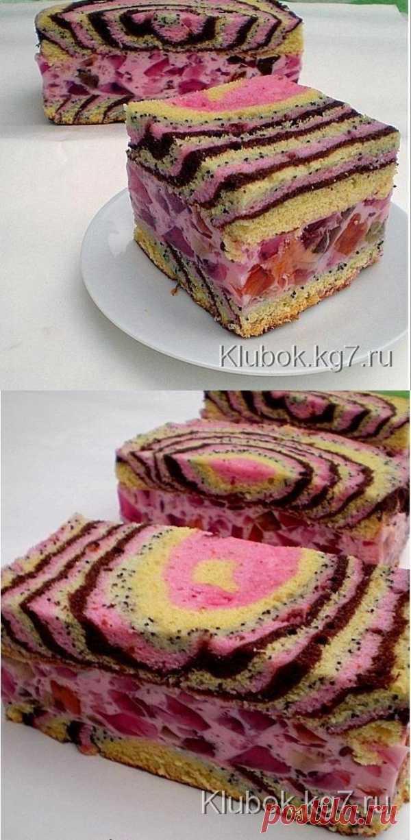 """Торт """"Цыганские тропы"""". Необычно"""