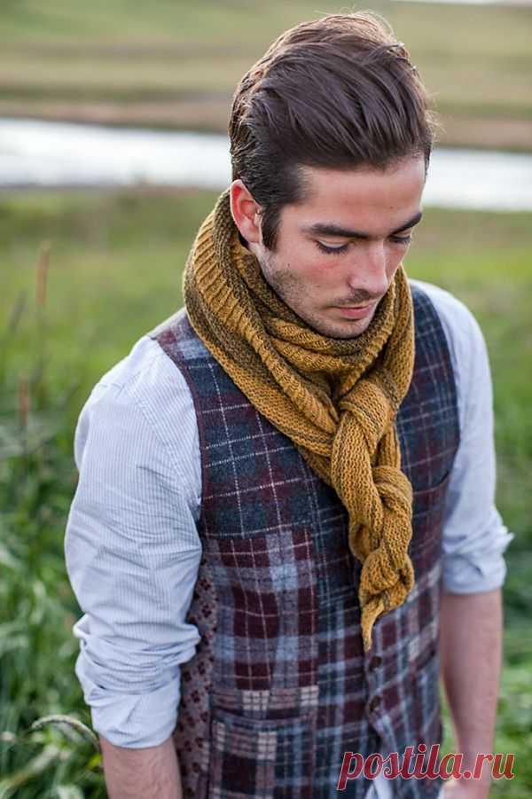 Лоскутная жилетка BrooklynTweed / Пэчворк / Модный сайт о стильной переделке одежды и интерьера