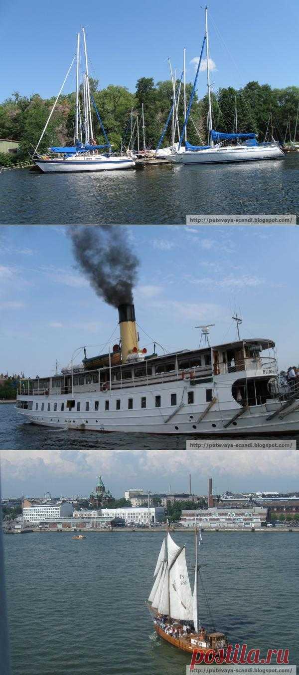 Очаровательные скандинавские кораблики (фотоотчет)