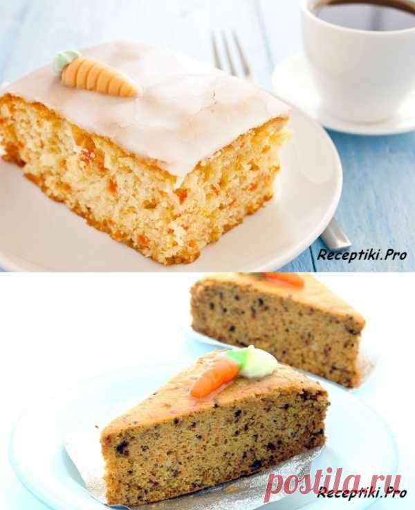 Морковный торт к приближающемуся Посту (для получения рецепта нажмите 2 раза на картинку)