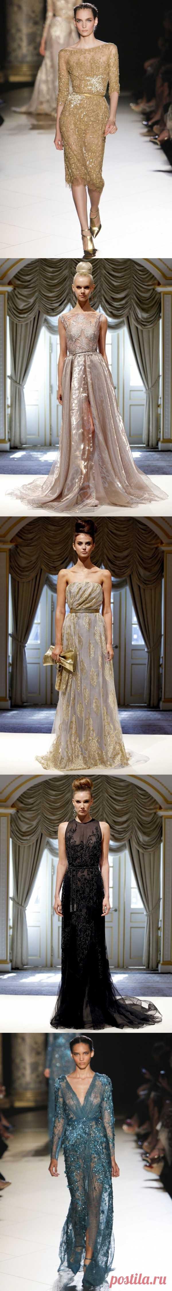 Прямо с подиума: самые красивые платья в пол