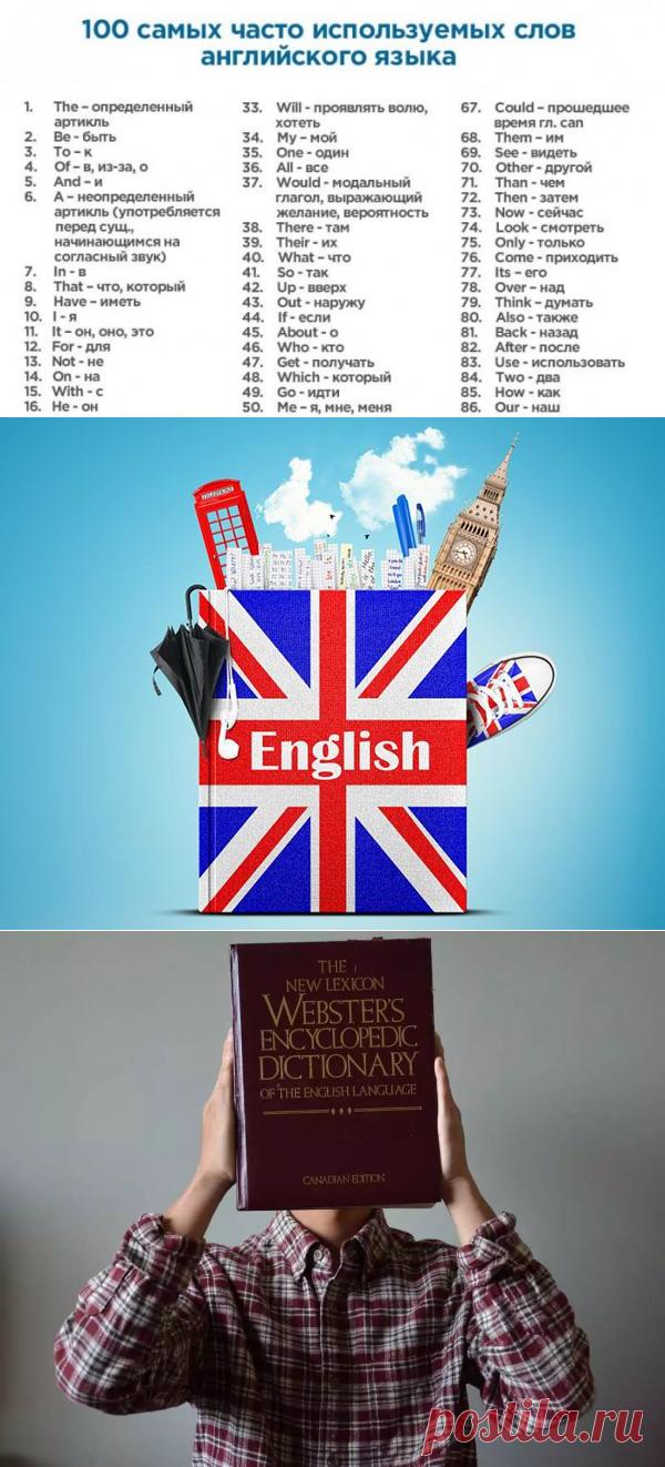 400 слов, которые покрывают 75% всех английских текстов. Желающим быстро выучить английский