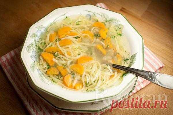 Рецепт куриного супа с овощами и лапшой
