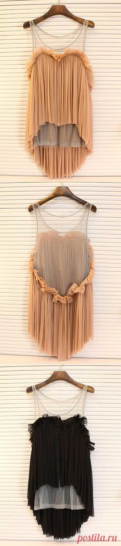 Еще один способ утилизировать юбку в складку)) / Юбки и их переделки / Модный сайт о стильной переделке одежды и интерьера