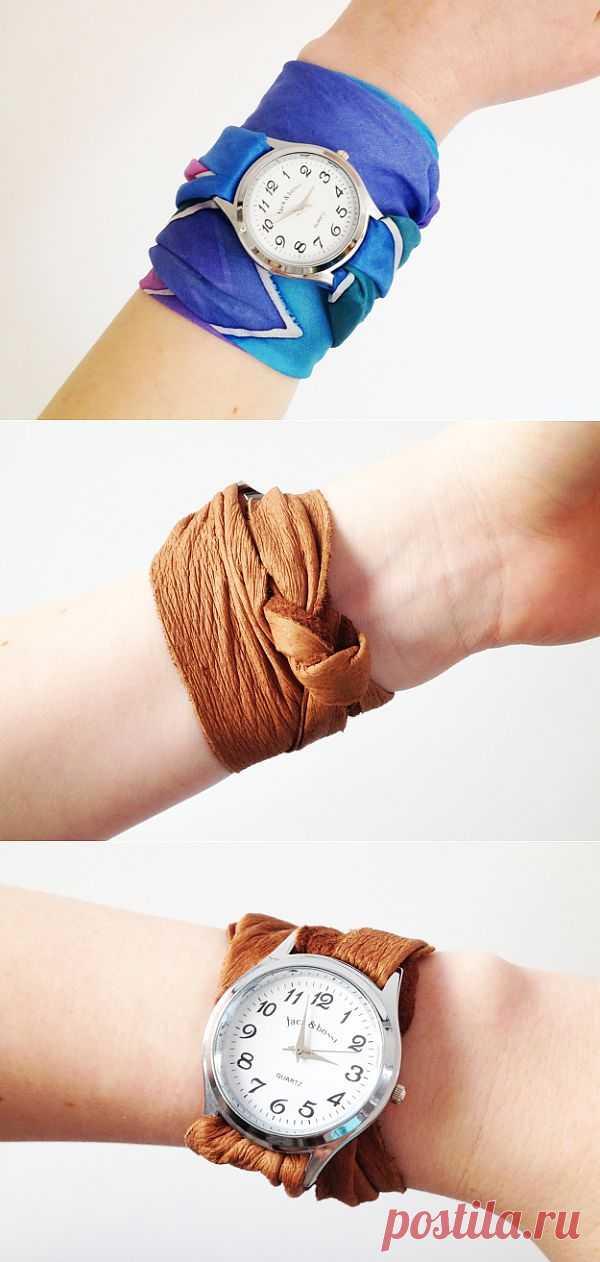 Часовые ремешки (DIY) / Аксессуары (не украшения) / Модный сайт о стильной переделке одежды и интерьера