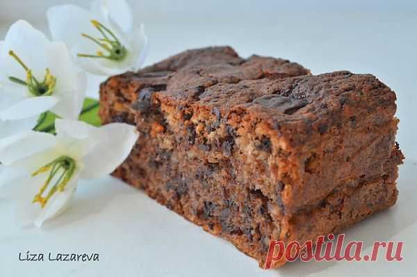 "MY FOOD или проверено Лизой: Шоколадный торт ""Два орешка"" от Д.Оливера. Автор: Елизавета Лазарева"