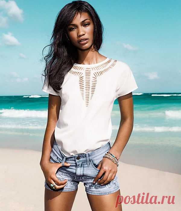 Футболка с прорезями H & M / Прорези / Модный сайт о стильной переделке одежды и интерьера