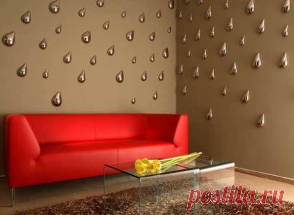 объемный декор стен
