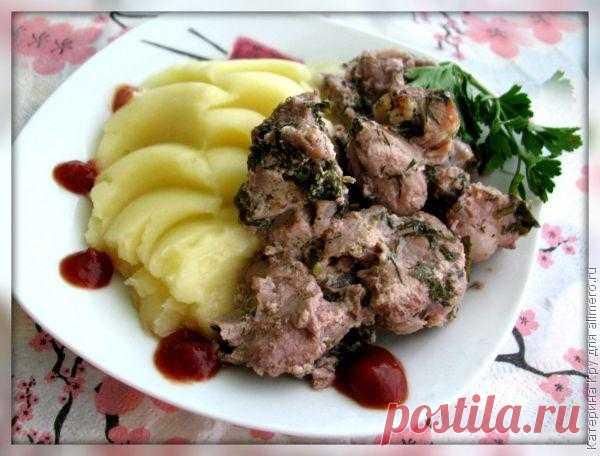 Мясо по грузински / Рецепты с фото