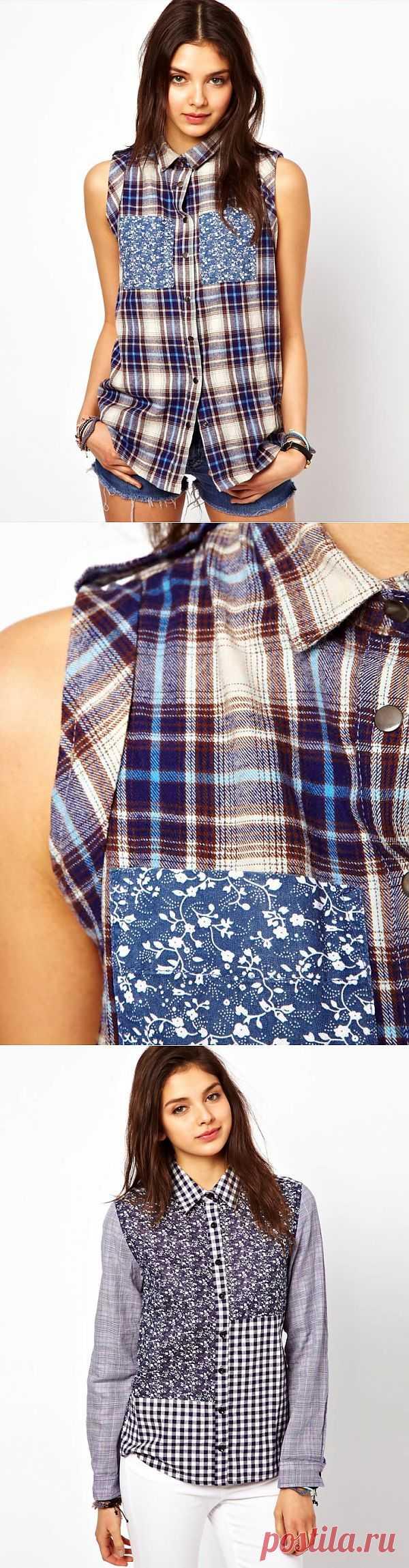Интересная рубашка Asos (+1) / Рубашки / Модный сайт о стильной переделке одежды и интерьера