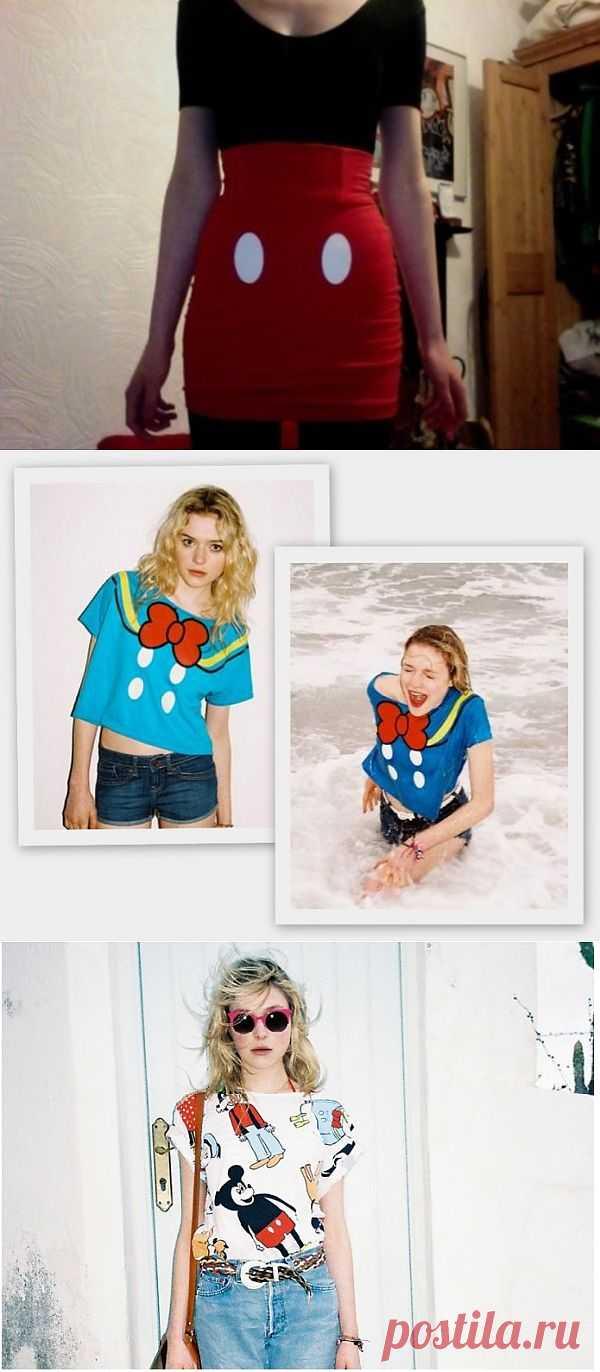 """Тенденция: """"Минни, Микки!"""" / Тенденции / Модный сайт о стильной переделке одежды и интерьера"""