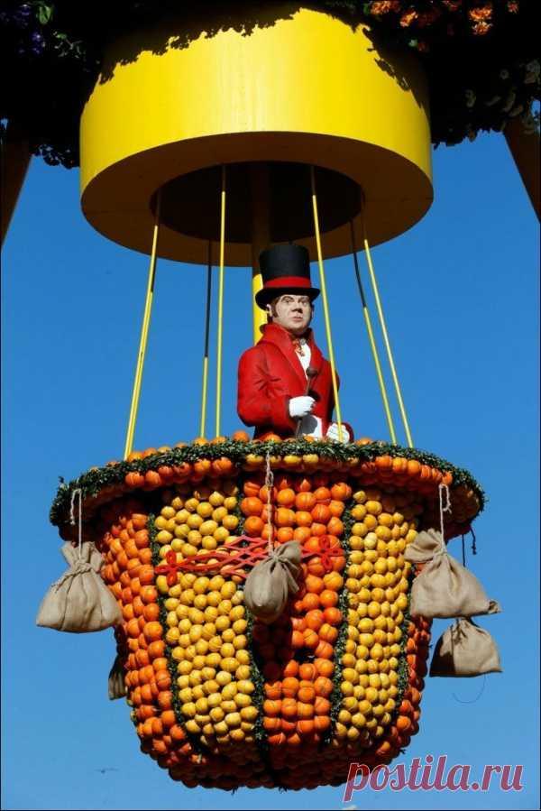 Фестиваль лимонов...Невероятное зрелище...
