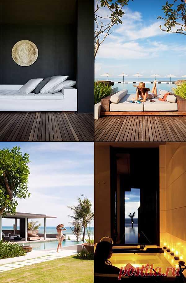 Alila Villas Soori - роскошный экзотический отдых в отеле на Бали | КрасиВО!!!