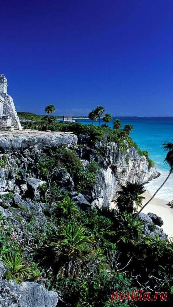 Прекрасные места планеты. Тулум, Полуостров Юкатан, Мексика