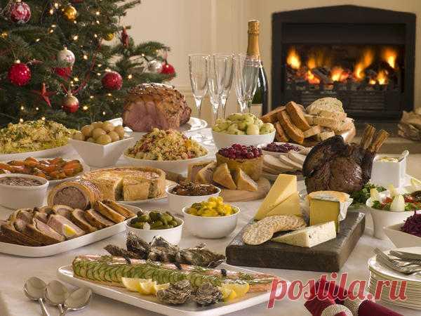 Рецепты для новогоднего стола: закуски, салаты и торт