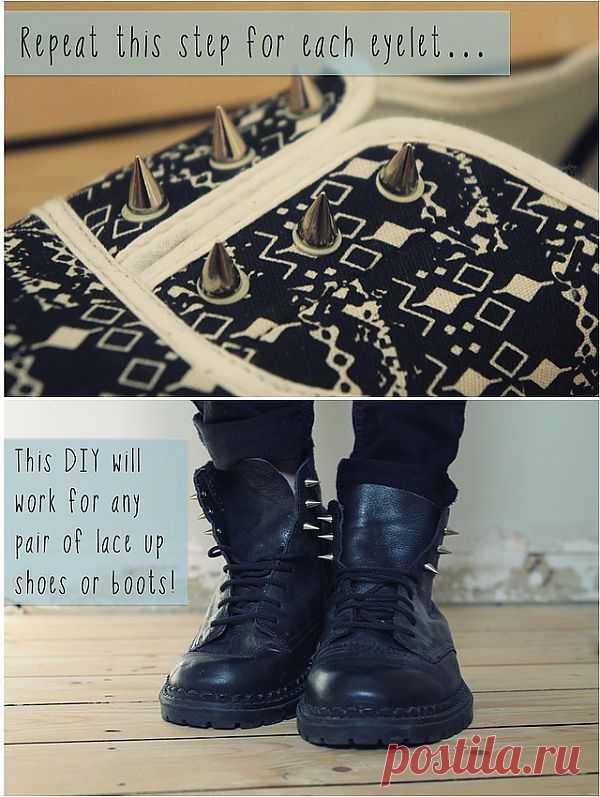 Обувные пипсы: шипы (Diy) / Ловим пипсы / Модный сайт о стильной переделке одежды и интерьера