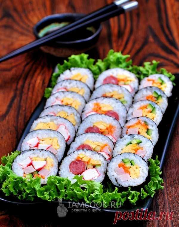 Кимбап — рецепт с фото пошагово. Как приготовить кимбап по-корейски в домашних условиях?