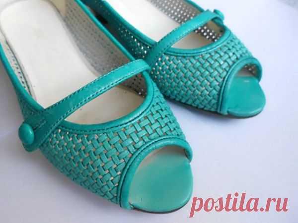 Обновление туфель за 6 (!) рублей / Обувь / Модный сайт о стильной переделке одежды и интерьера