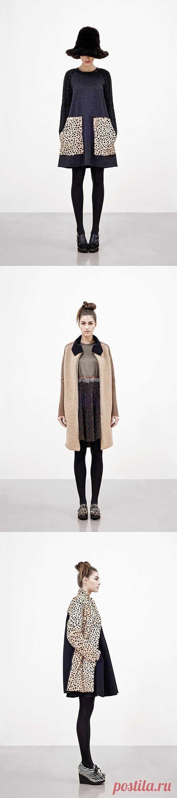 Лукбук Hache зима 2012 / Лукбуки / Модный сайт о стильной переделке одежды и интерьера
