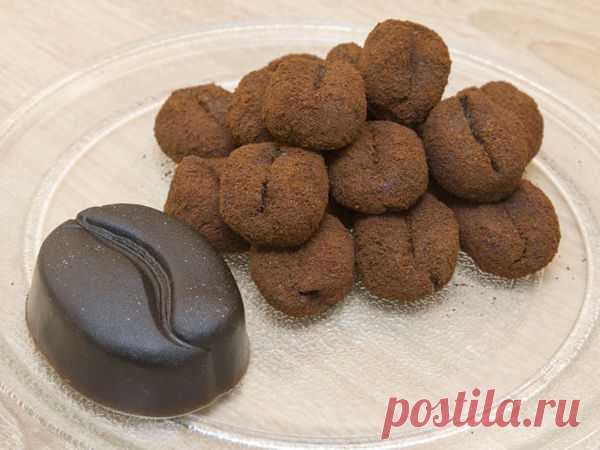 Мастер-класс : Антицеллюлитный сахарный скраб для тела в виде кофейных зерен своими руками