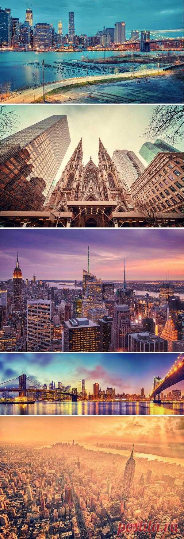 Яркий, красочный Нью-Йорк глазами немецкого фотографа  Маттиаса Хакера.