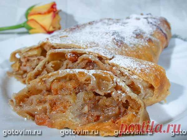 Штрудель с яблоками. Рецепт с фото Штрудель с яблоками: рецепт австрийской кухни