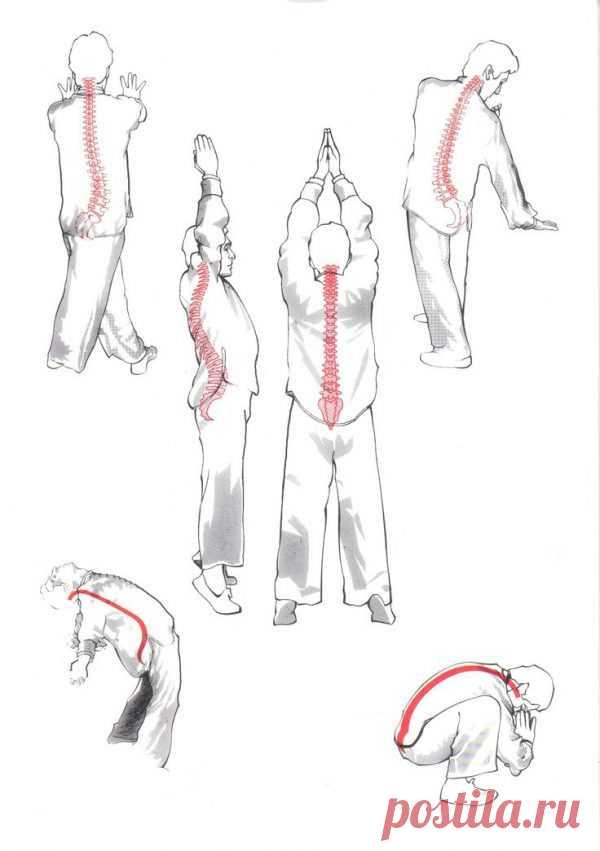 18 упражнений укрепления духа и тела   KeFLine