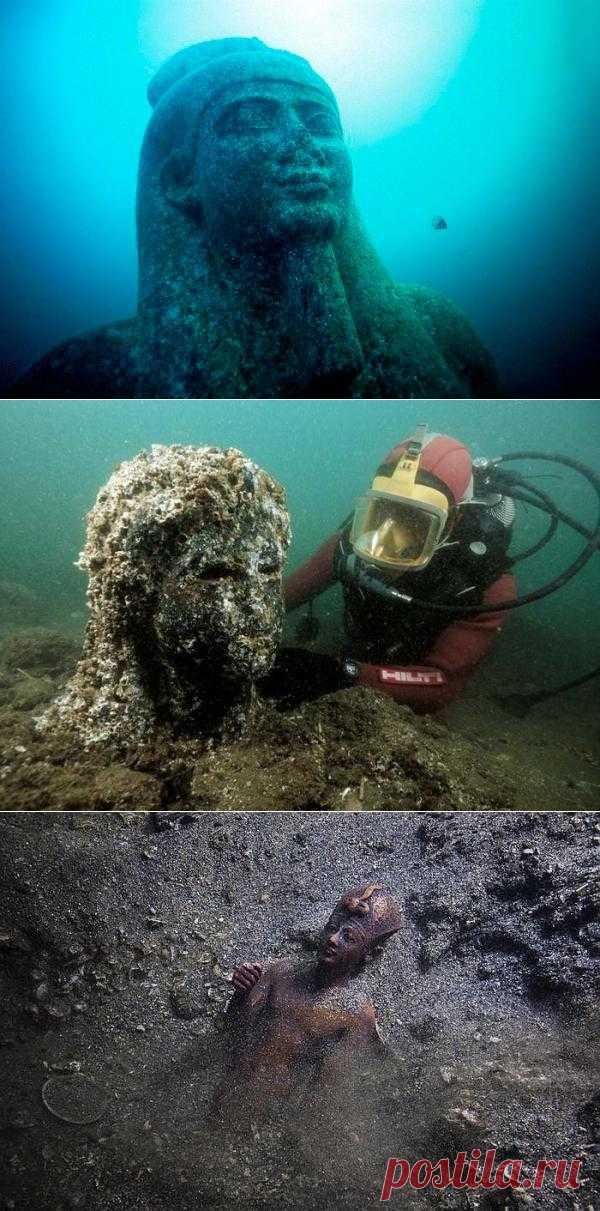 Древний Гераклион - город под водой