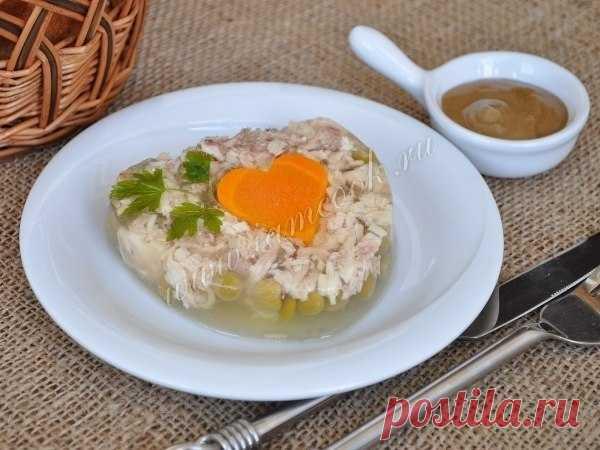 Заливное из курицы | Кулинарные Рецепты