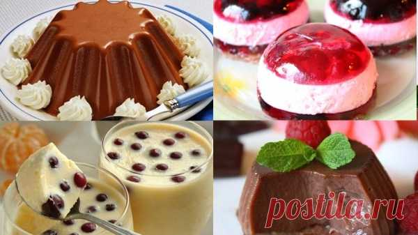 5 лучших желейных десертов — за уши не оттянешь! - Узнал сам расскажи другому все самое интересное - медиаплатформа МирТесен