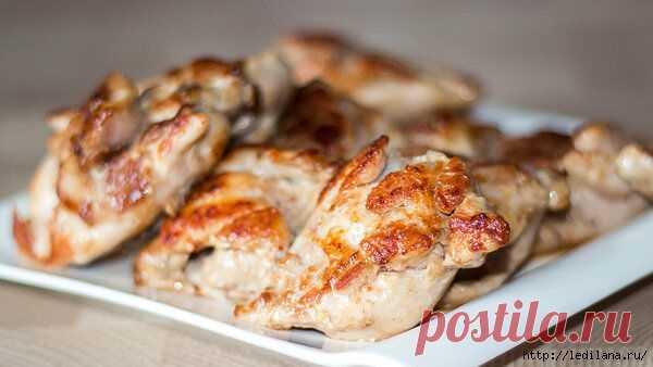 Как приготовить вкусное куриное мясо