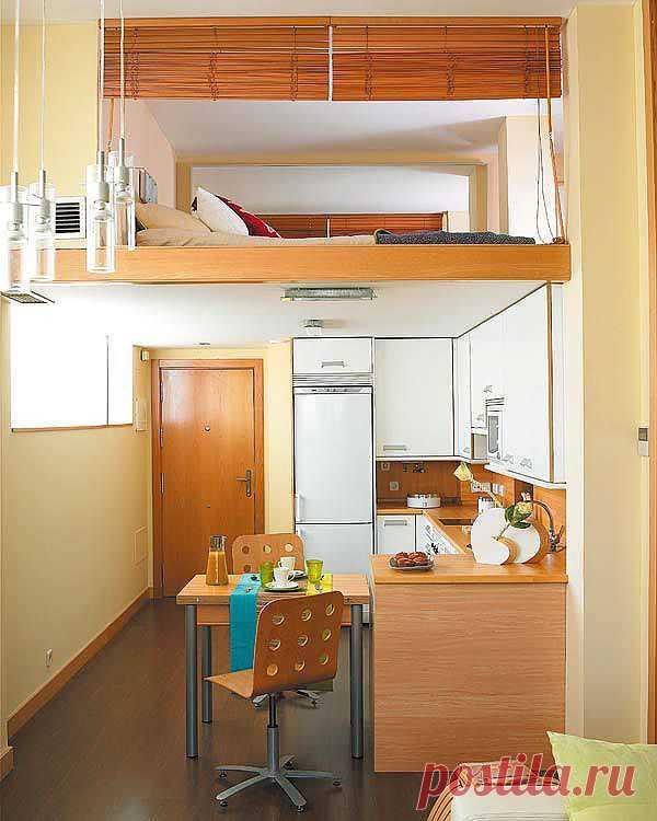 Рациональное использования пространства в квартире площадью 40 кв