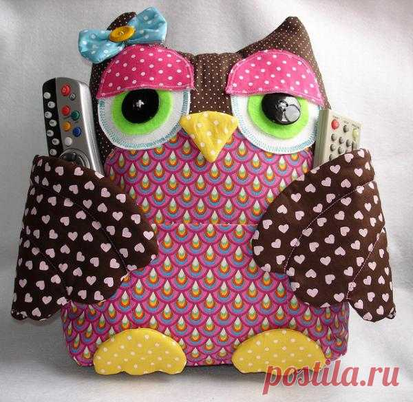 The pillow the WISE OWL stores the PANEL from TV, muses. the player, generally everything that at you is at home. You will not think up more conveniently!