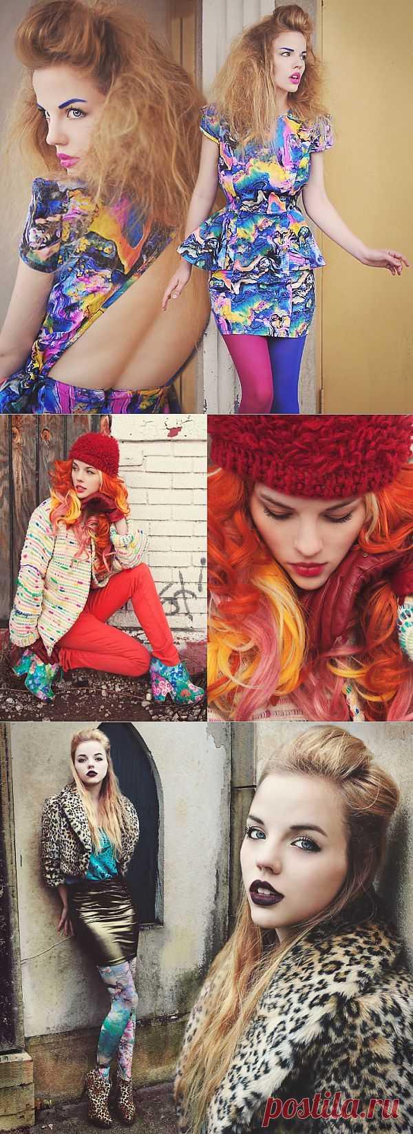 Капля краски зимой / Блоггеры / Модный сайт о стильной переделке одежды и интерьера