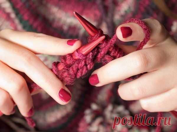Способ вязания без поворота полотна