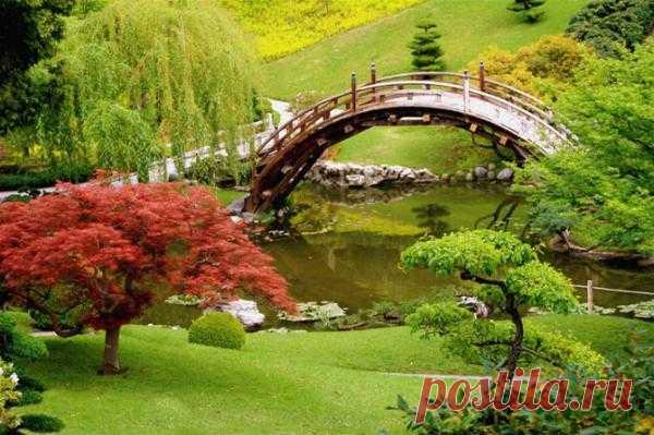 Сад Huntington Botanical Gardens, в США