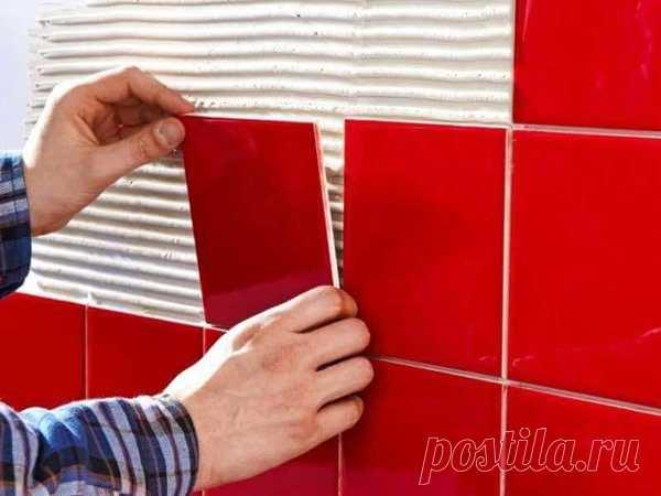 Как самостоятельно класть плитку без ошибок | Своими руками